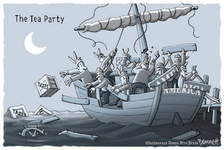 Cartoon: Tea Party Poopers
