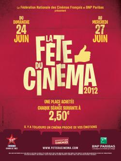 Fête du Cinéma 2012 - affiche officielle