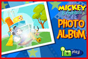 Mickey's & friends photo album Game
