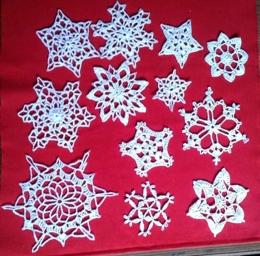 Free Crochet Pattern Snowflakes Ornament : Free crochet snowflake patterns ~ Free Crochet Patterns