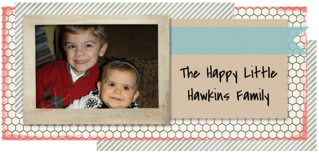 The Happy Little Hawkins Family