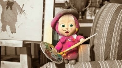 Foto Lucu Masha and the Bear Terbaru