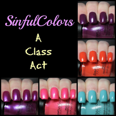 sinful colors a class act review swatch