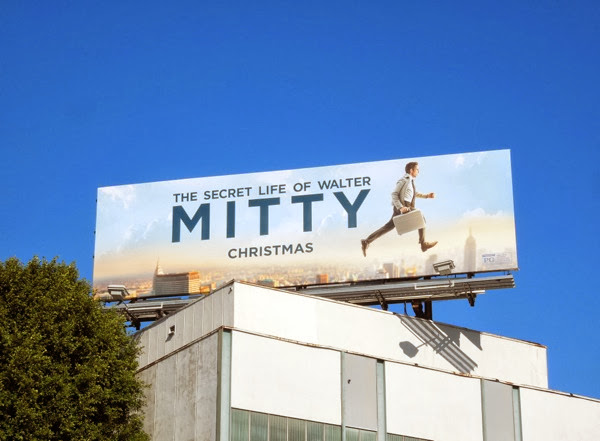 Secret Life of Walter Mitty film billboard