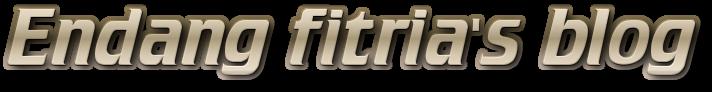 Endang fitria's Blog