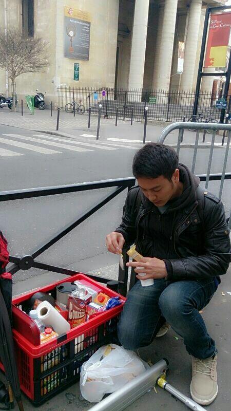 Dimas Anggara Love in Paris