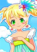 Милый ангелочек - Онлайн игра для девочек