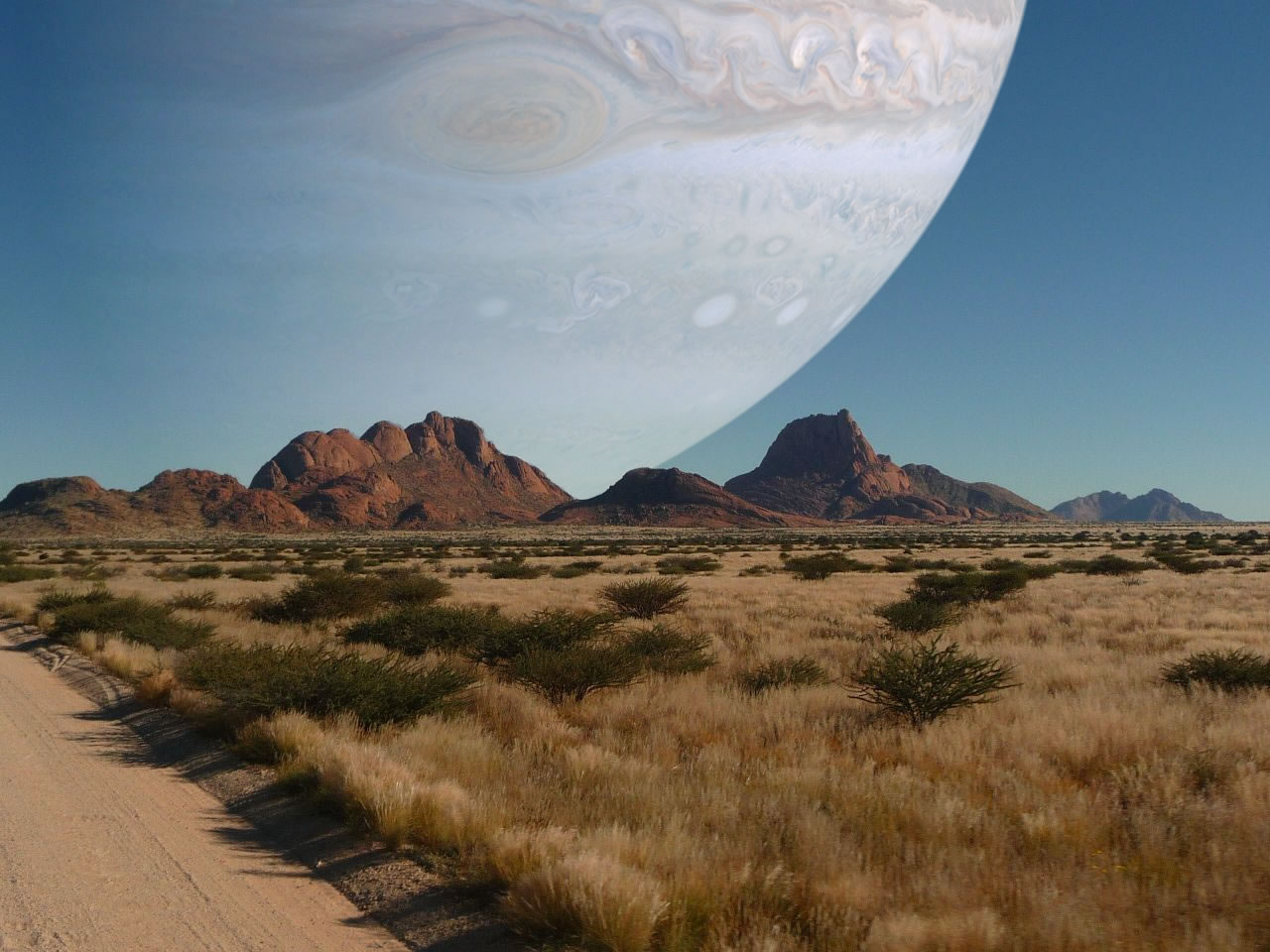 if jupiter was as close as the moon
