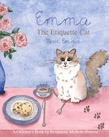 EMMA The Etiquette Cat: Meet Emma Book
