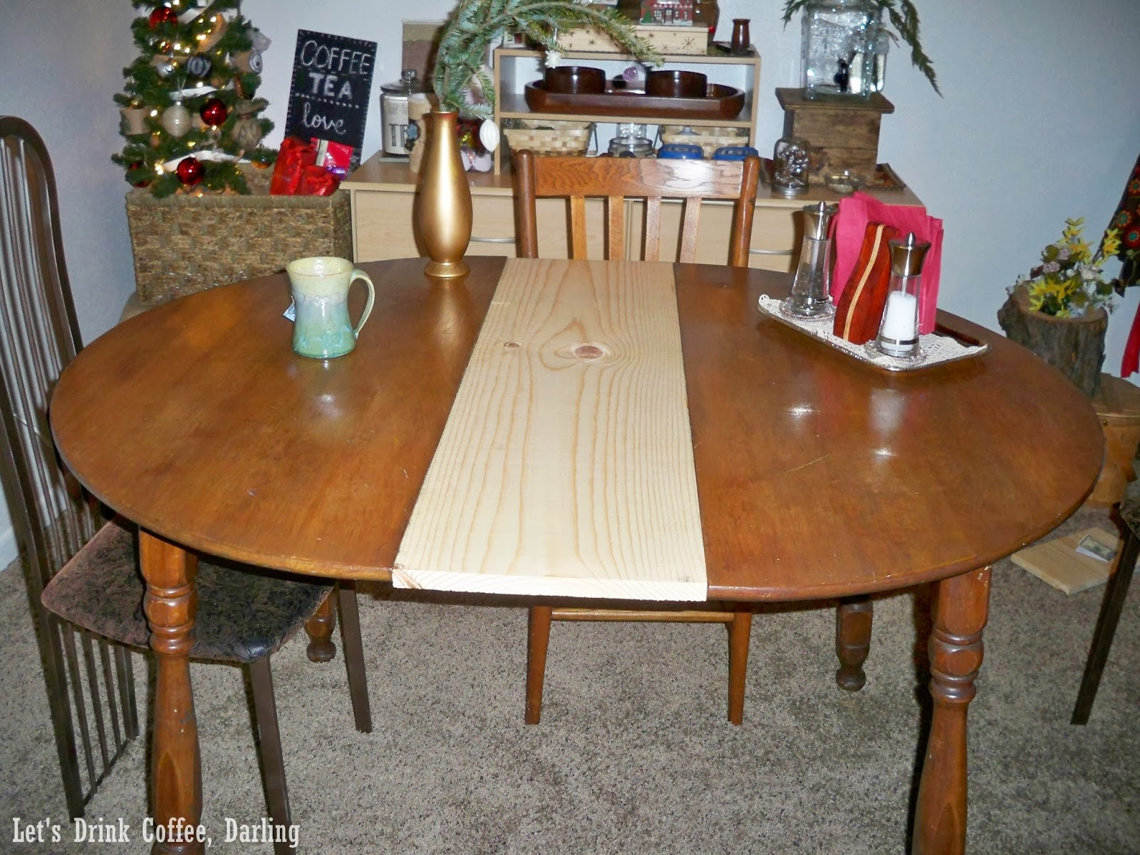 let u0027s drink coffee darling a new leaf for our dining table