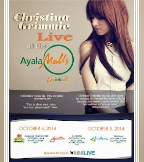 Christina Grimmie Live at the Ayala Malls