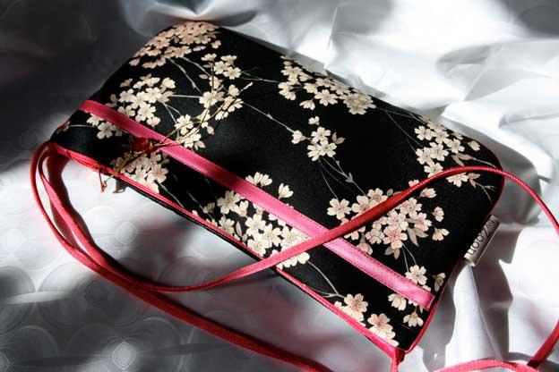 grigri keiko - geisha noir/fushia