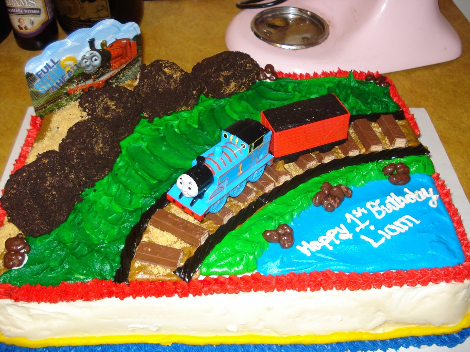 C B Creations Thomas The Train Cake