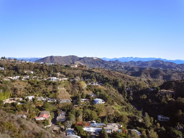 Beautiful Hollywood Sign mountain view Runyon Canyon