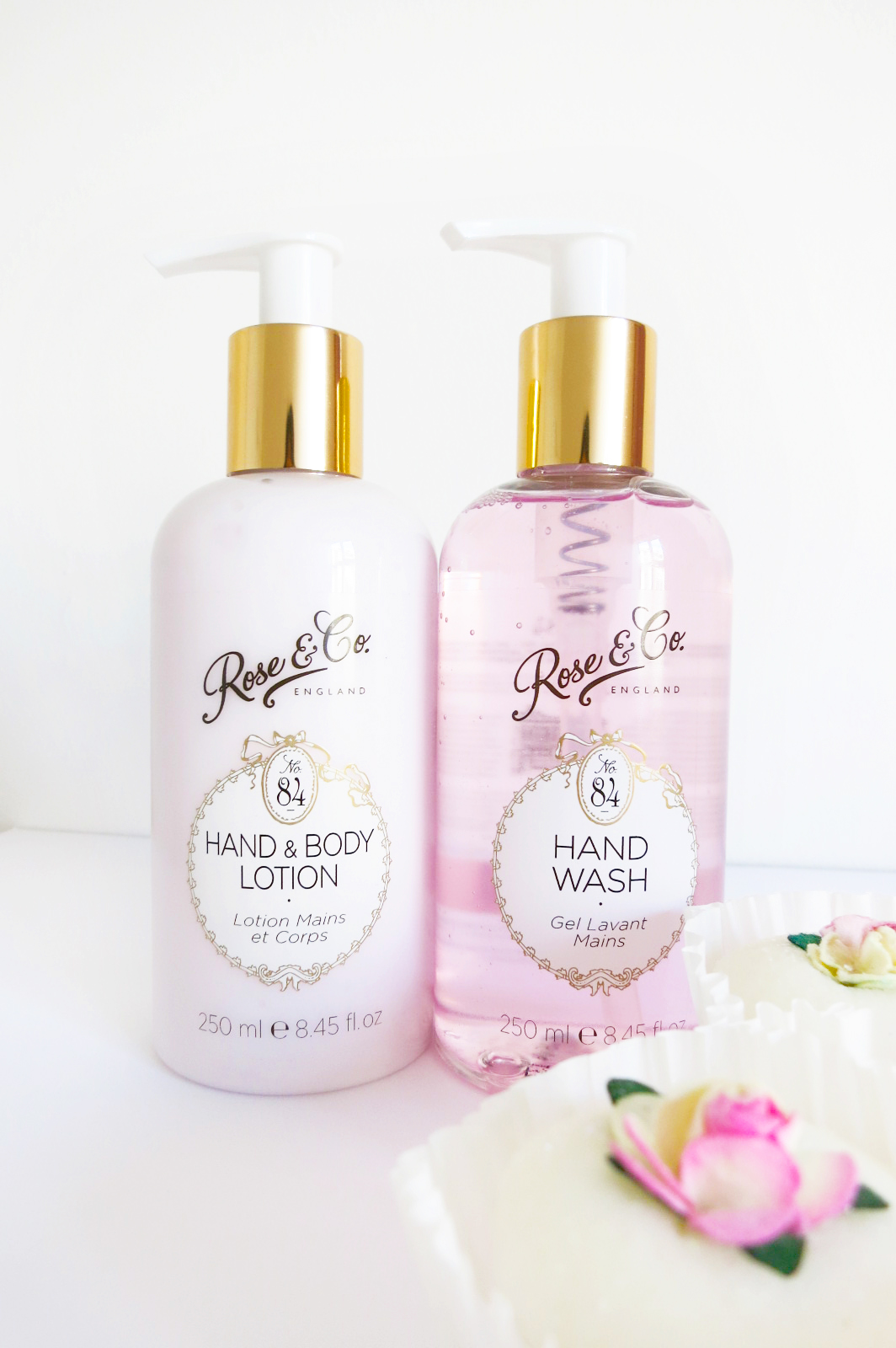 rose&co rose scented beauty products