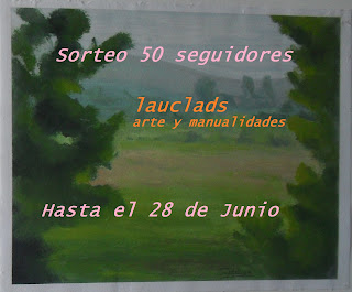 SORTEO EN LAUCLADS, ARTE Y MANUALIDADES