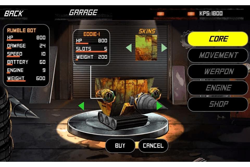 Screenshot Rumble Bots Android