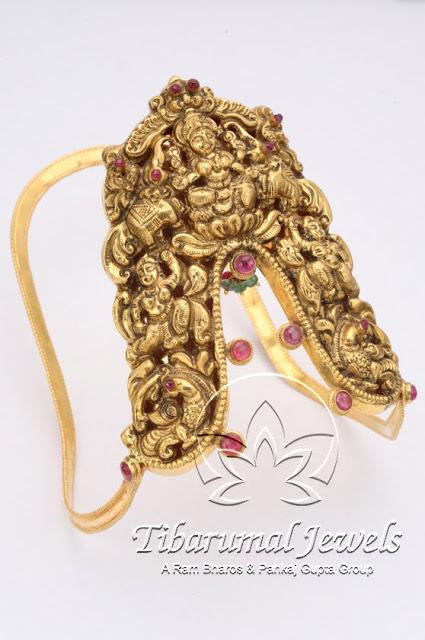 Indian Jewellery And Clothing Temple Design Ara Vanki Arm