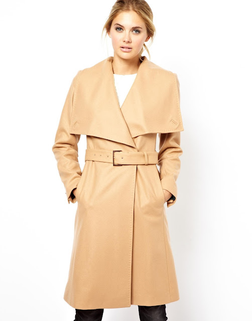 large lapel coat