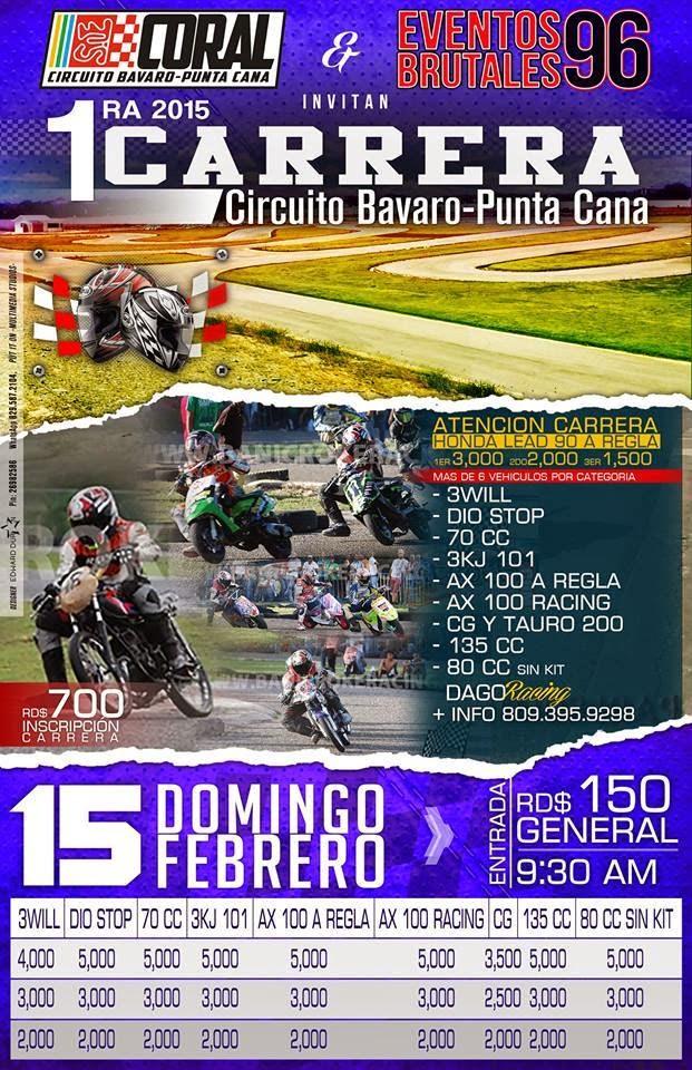 1ra Carrera Circuito Bávaro Punta Cana