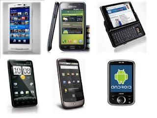 Daftar Harga HP Android Terbaru 2012