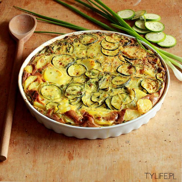 casserole with zucchini