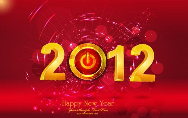 Cartes de voeux 2012 gratuite