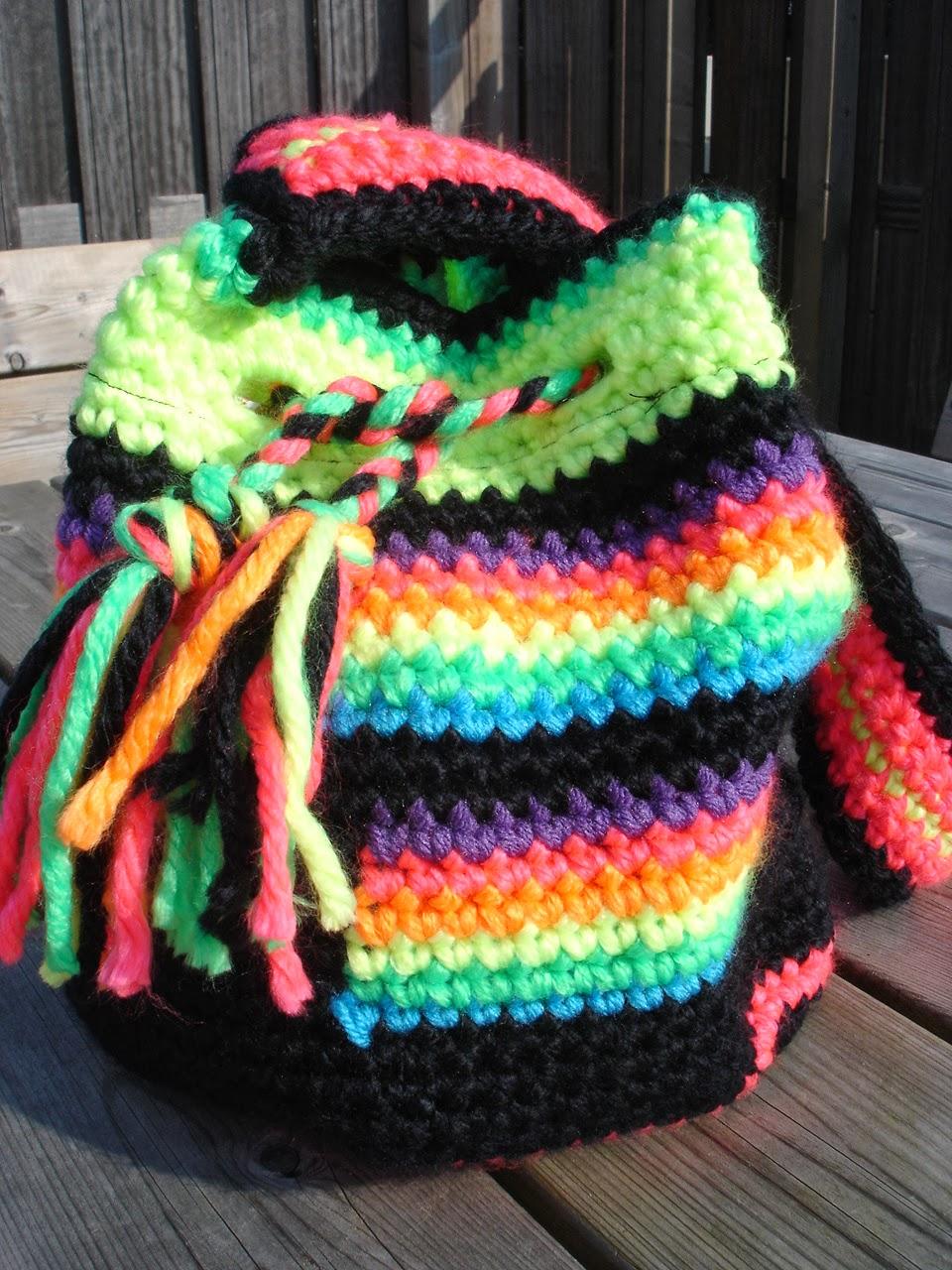 Tassen Action : Made by mg look a like the mochila wayuu bag