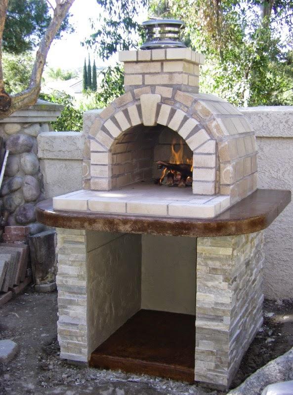 BrickWood Ovens: Schlentz Tan Wood Fired Brick Pizza Oven ...