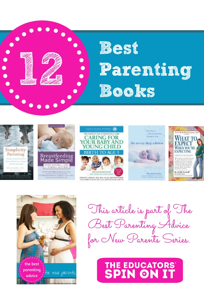 12 BEST - MUST READ parenting books for new parents. A list created by real moms!