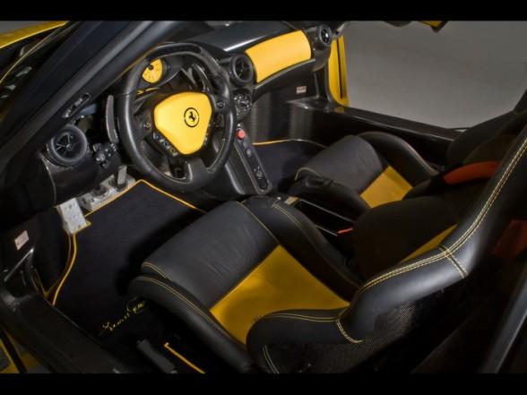 Aleda Costa Ferrari Enzo Interior Images