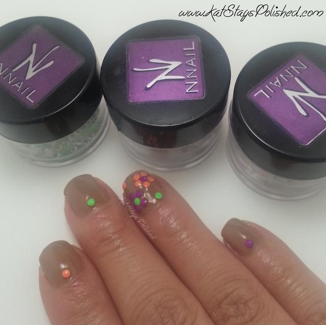 kkCenterHK - Neon Nail Studs - Zoya Flynn | Flower Nail Art