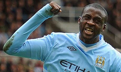 BBC Sport  Yaya Toures goalscoring return to the Man