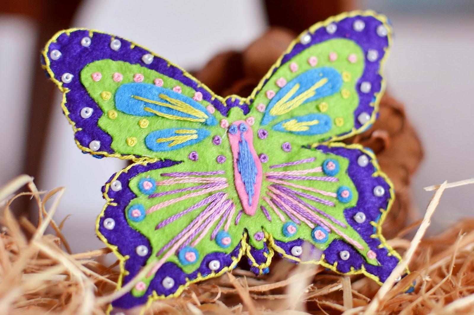 Бабочка из флиса своими руками фото 604