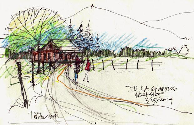 tim oliver's sketchbook