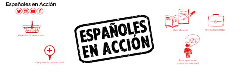 ESPAÑOLES EN ACCIÓN - Ayuda social para españoles