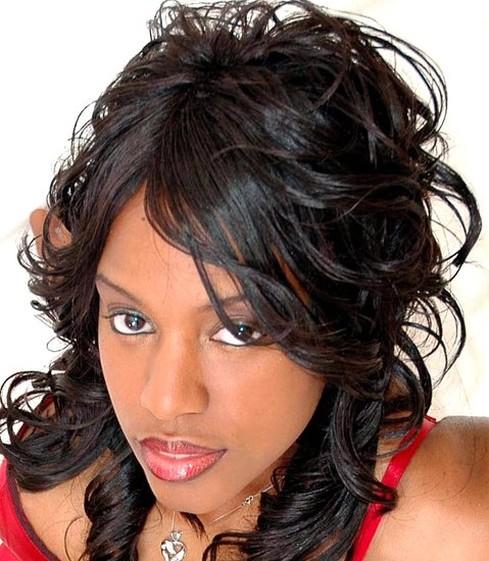 Celebrity World: African American Women Wedding Hair Style