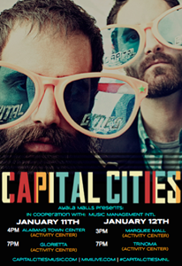 Capital Cities Live at Ayala Malls