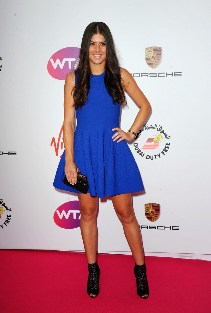 WTA Hotties Hot Shot WTA Stars Dress Up For Wimbledon Party