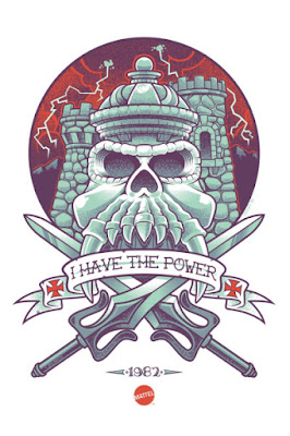 He-Man and the Masters of the Universe Print by Scott Derby