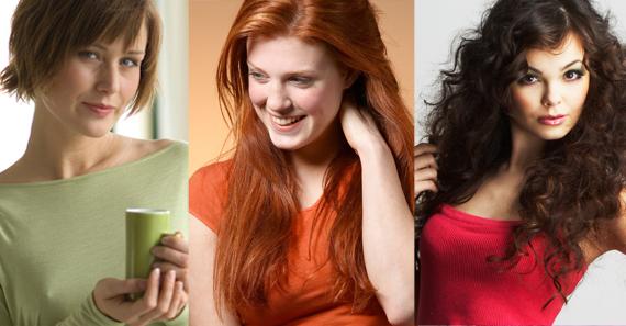 Могут разнообразно экспериментировать со стилем и варьировать цвета волос