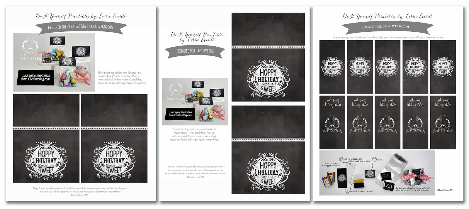 Easter packaging inspiration and free downloads   creativebag.com