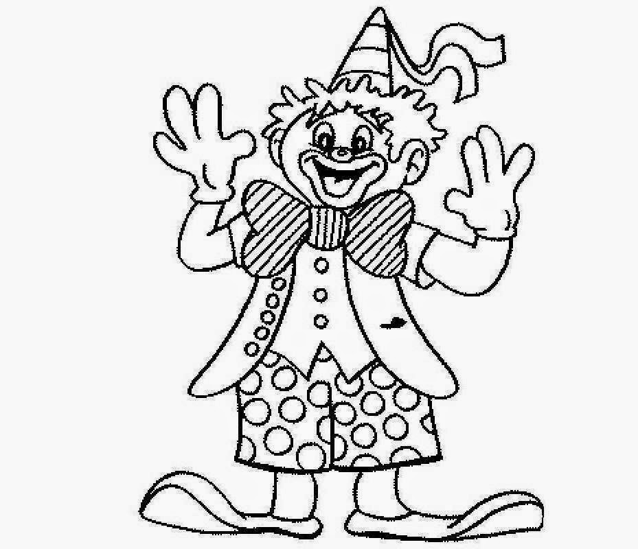 colour drawing free hd wallpapers cute clown for kid