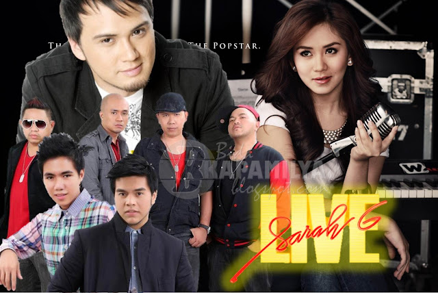 Billy Crawford, Gabriel Maturan, Jeric Medina and Daddy's Home on Sarah G Live this November 4