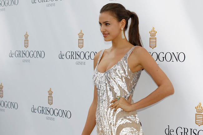 photos of Irina Shayk in Cannes 2012