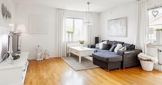 Boho deco chic un piso de estilo n rdico rom ntico en - Piso estilo nordico ...