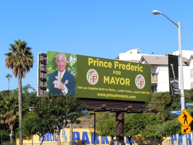 Prince Frederic Mayor billboard