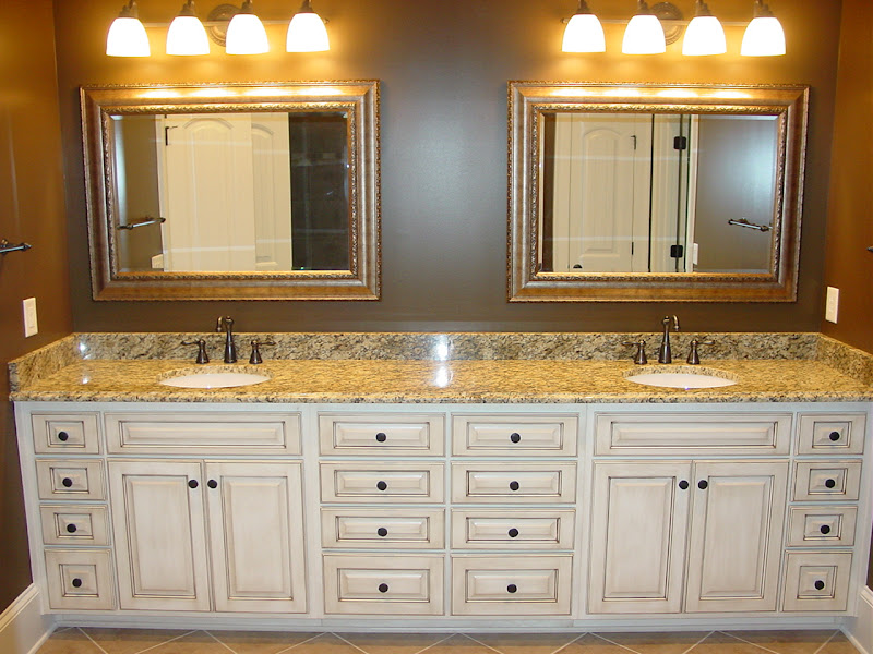 the bathroom is typically a smaller area in a home thus creating less  title=