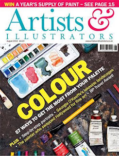 Artist and Illustrator Magazine Issue August 2013