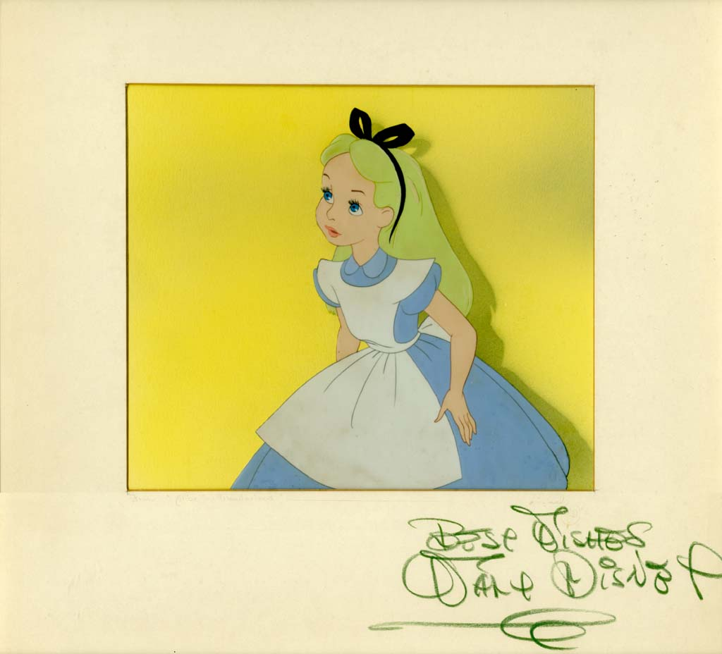 Vintage Disney Alice in Wonderland: One From the Wall - Alice Studio ...
